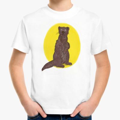 Детская футболка Выдра