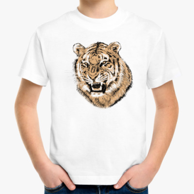 Детская футболка Тигр