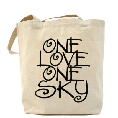 Сумка ONE love, ONE sky