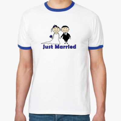 Футболка Ringer-T Just Married