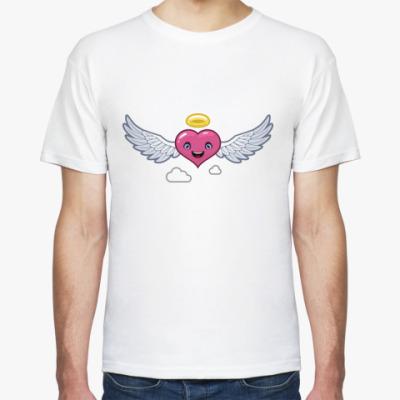 Футболка сердце-ангел