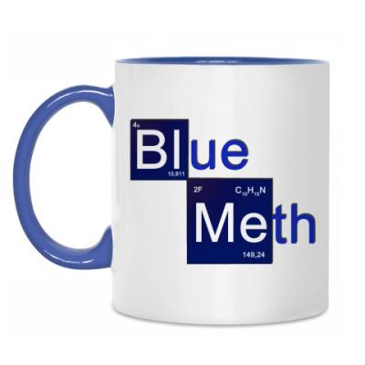 Кружка Синий мет