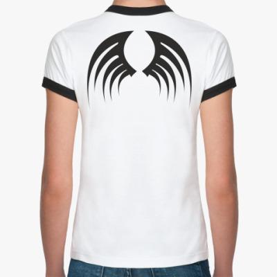 Женская футболка Ringer-T Крылья