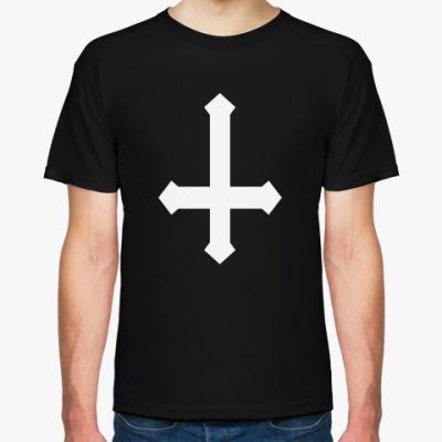 Футболка Перевернутый Крест / Inverted Cross