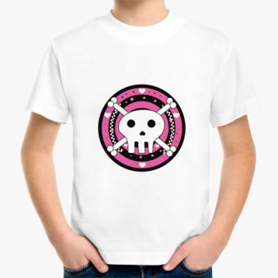 Детская футболка skull emo