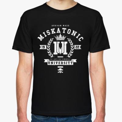 Футболка Miskatonic University