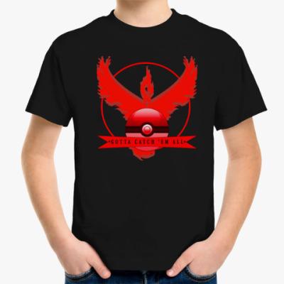 Детская футболка Pokemon GO/Покемон ГО/Valor child