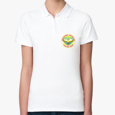 Женская рубашка поло Герб Ингушетии