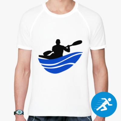 Спортивная футболка Байдарка