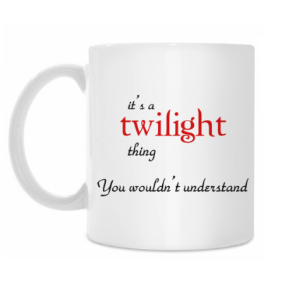 Кружка Twilight-thing