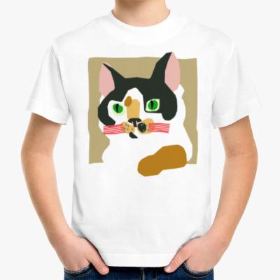 Детская футболка OVALAB - Кошка