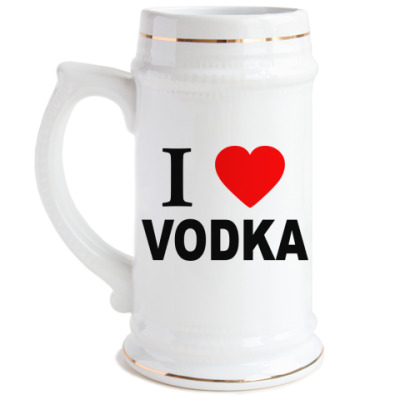 Пивная кружка  vodka