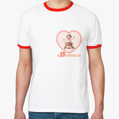 Футболка Ringer-T   'Кавайтеся'