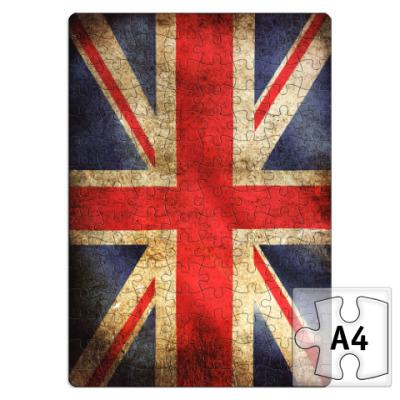 Пазл  'Флаг Великобритании'