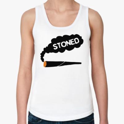 Женская майка stoned