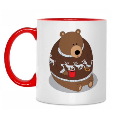 Кружка Bear with Mug