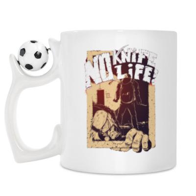 Кружка No Knife — No Life!