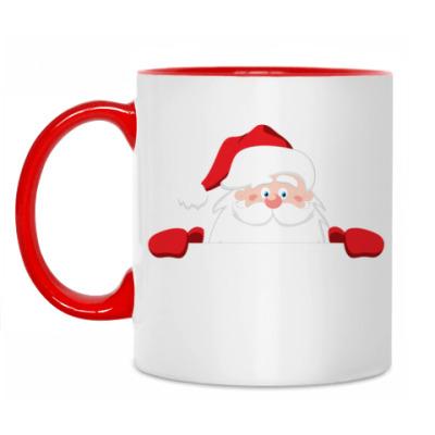 Кружка Санта