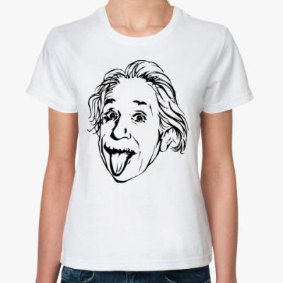 Классическая футболка Эйнштейн 2