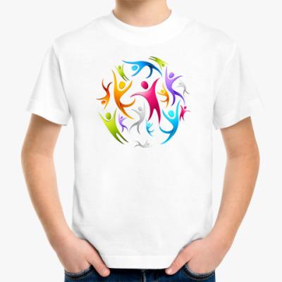 Детская футболка Человечки
