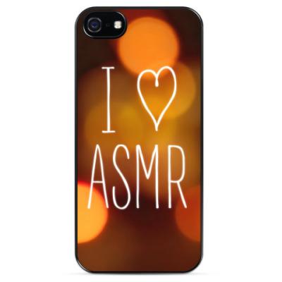 Чехол для iPhone Я люблю ASMR