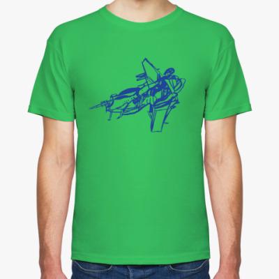 Футболка военный самолёт