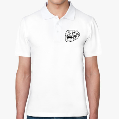 Рубашка поло TrollFace