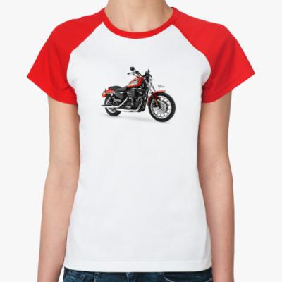 Женская футболка реглан Harley-Davidson