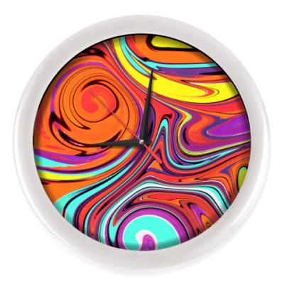 Настенные часы Абстракция