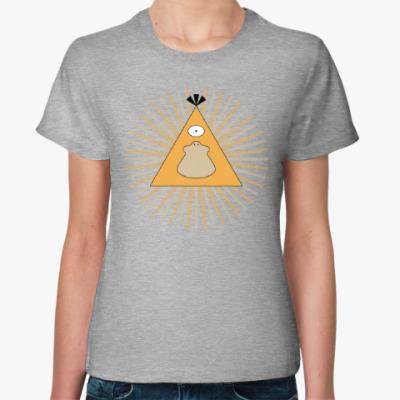 Женская футболка Покемон-масон Псайдак