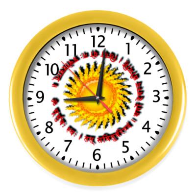 Настенные часы Древняя гаятри мантра
