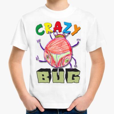 Детская футболка Crazy BUG