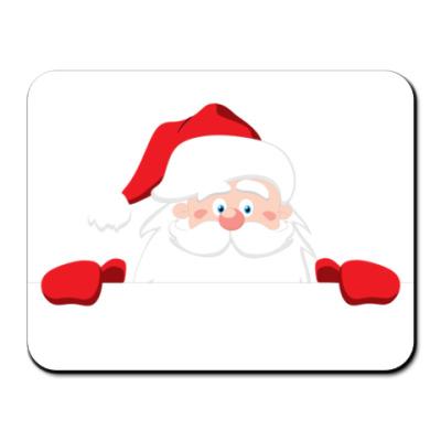 Коврик для мыши  Санта