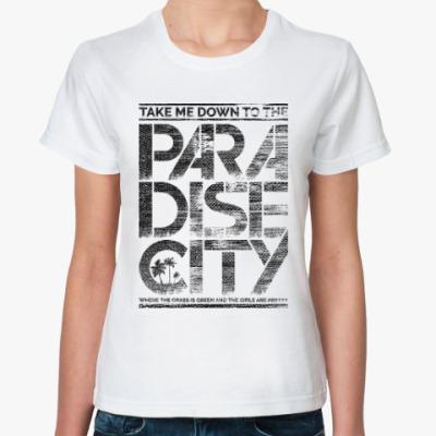 Классическая футболка Paradise City