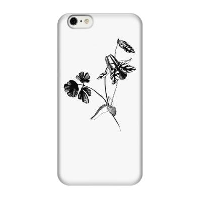 Чехол для iPhone 6/6s Аквилегия