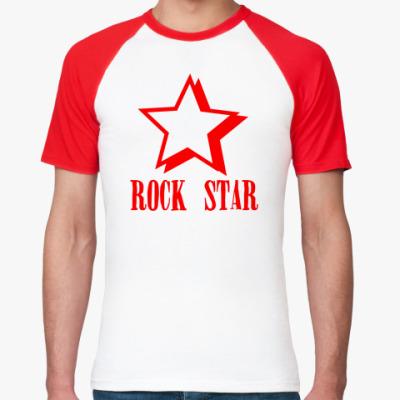 Футболка реглан  Rock Star