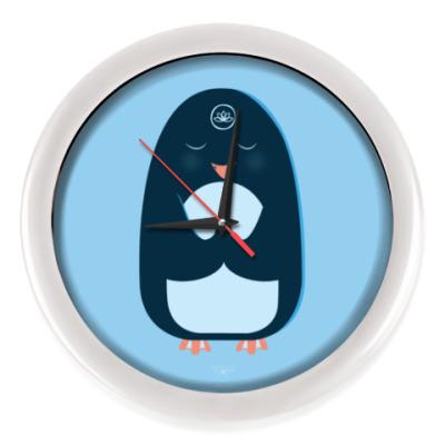 Настенные часы Animal Zen: P is for Penguin