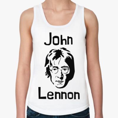 Женская майка Джон Леннон