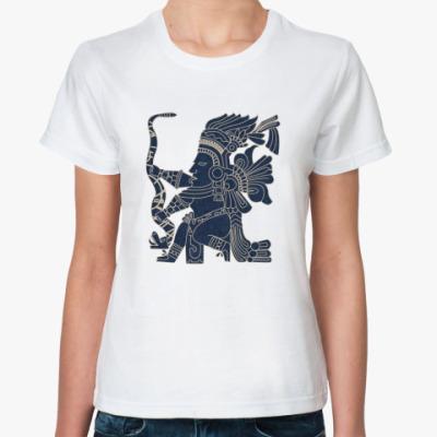 Классическая футболка Индеец