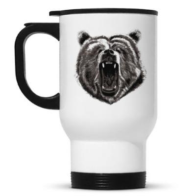 Кружка-термос Медведь