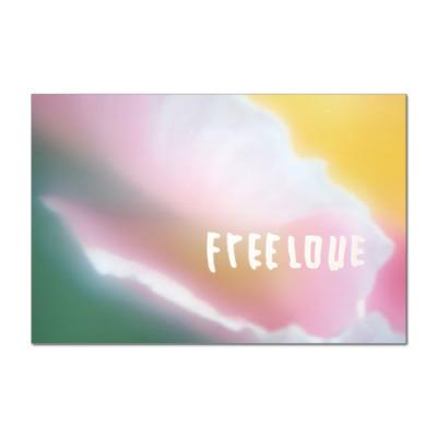 Наклейка (стикер)  Freelove