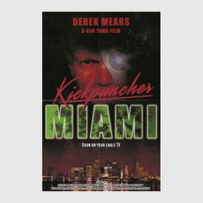 Постер Kickpuncher: Miami