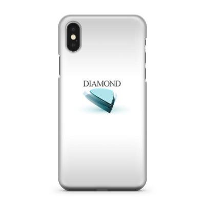 Чехол для iPhone X Diamond Soul