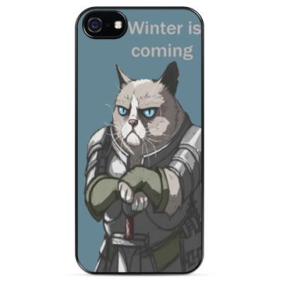 Чехол для iPhone Зима близко