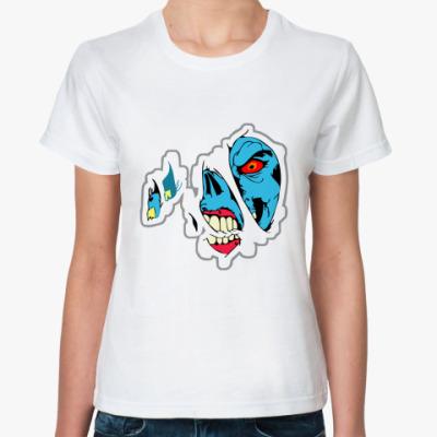 Классическая футболка  'Зомби'