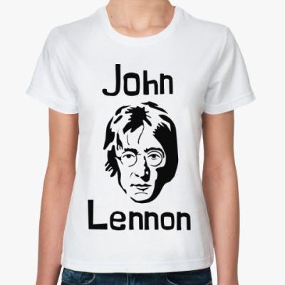 Классическая футболка Джон Леннон