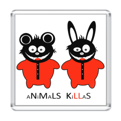 Магнит Animals Killas