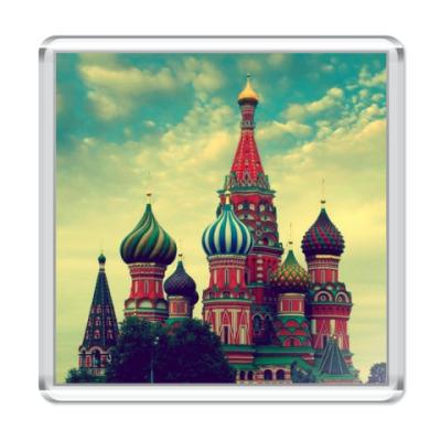 Магнит 'Золотая моя Москва'