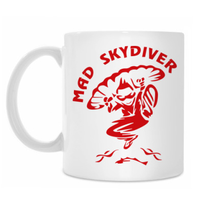Кружка MAD SKYDIVER
