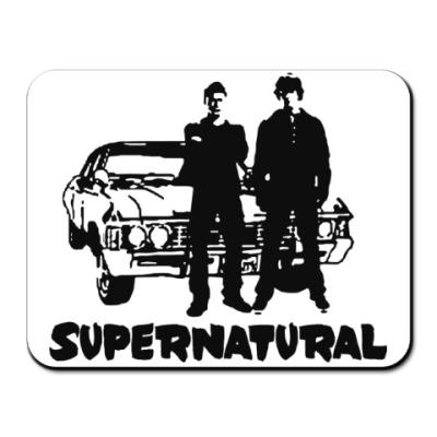 Коврик для мыши Supernatural Impala